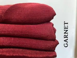 Shimmery Lurex-Garnet