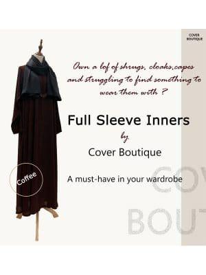 Full Sleeve Inner-coffee