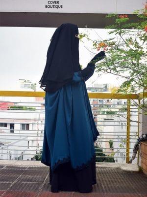 Nayla Jilbab Set (teal)