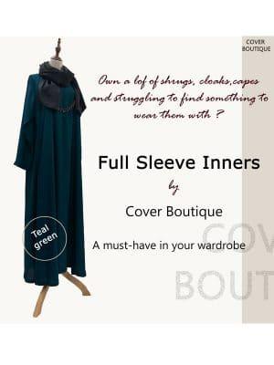 Full Sleeve Inner-Teal Green