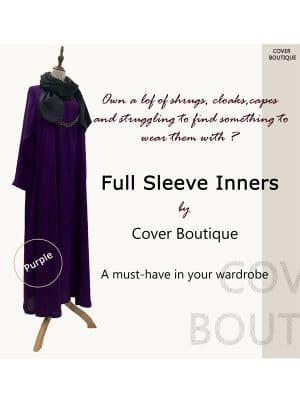 Full Sleeve Inner-Purple