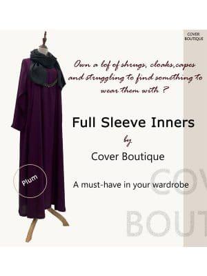 Full Sleeve Inner-Plum