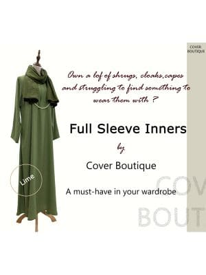 Full Sleeve Inner-Lime